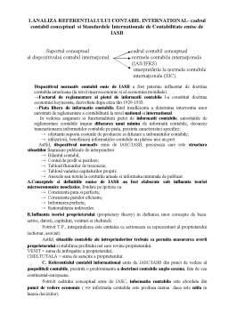 Curs - Doctrine Contabile și Sisteme Contabile Comparate