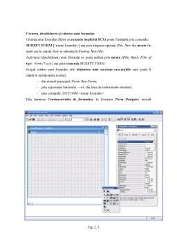Referat - Baze de Date . Visual Foxpro