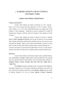 Proiect - Cultura Pajistilor si a Plantelor Furajere in Valea Doftanei