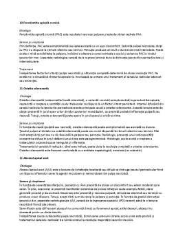 Notiță - Subiecte de Examen Endodonție Anul 5