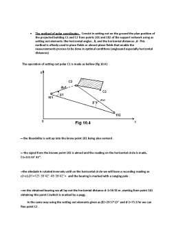 Curs - Land Surveying - Surveying Calculus