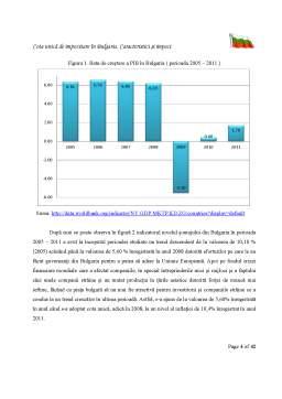 Curs - Cota Unica de Impozitare in Bulgaria si Implicatii ale Acesteia