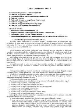 Curs - Contractele SWAP