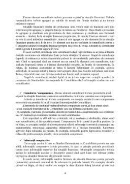 Referat - Cadrul Conceptual privind Intocmirea și Prezentarea Situațiilor Financiare