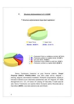 Proiect - Analiza Tehnicii Operatiunilor Bancare la Banca Transilvania
