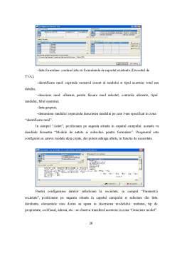 Proiect - Sisteme Informatice Financiar - Contabile Comparate. Prezentare Program - CIEL