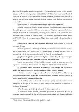 Curs - Procedură Penală