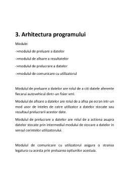 Proiect - Medii de Programare Vizuala (JAVA) - Evidenta Autovehiculelor Inmatriculate