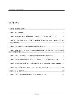 Curs - Drept Civil - Drepturi Reale