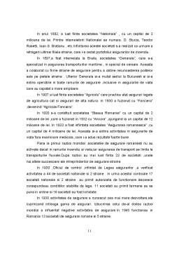 Referat - Evolutia Asigurarilor in Plan Mondial si in Romania