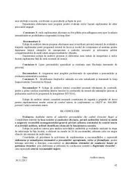 Proiect - Misiune de Audit Intern - Auditul Intern al Salariilor