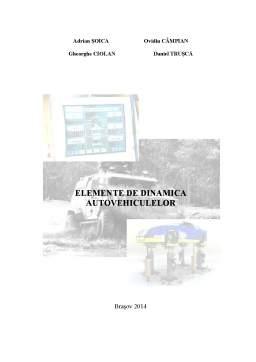 Curs - Elemente de Dinamica a Autovehiculelor