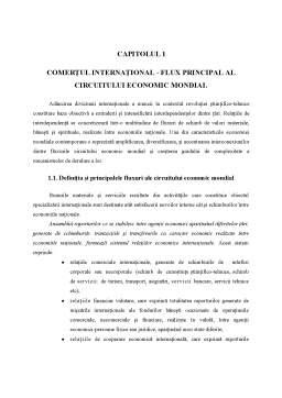 Curs - Comertul International - Capitolul 1