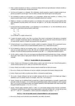 Curs - Setul 1 - Operatii Simple de Citire-Scriere a Datelor - Operatori si Expresii