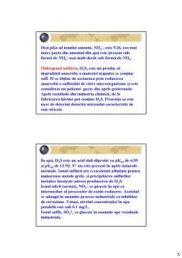Curs - Chimia Mediului - Curs 5