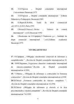 Licență - Formarea Contractului de Comert International