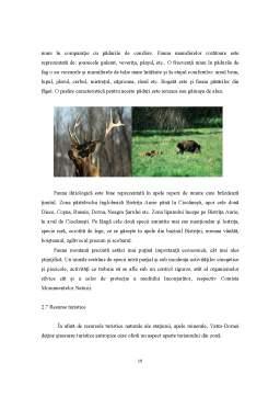 Proiect - Turismul Rural - Factori de Dezvoltare Rurala in Microzona Vatra Dornei
