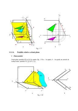 Curs - Geometrie Descriptiva