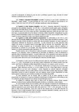 Referat - Rezerva Succesorală și Cotitatea Disponibilă