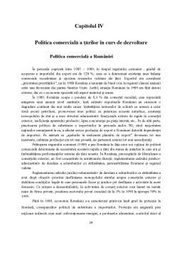 Proiect - Politici Comerciale