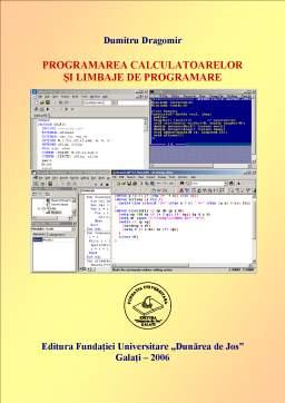 Curs - Programarea Calculatoarelor și Limbaje de Programare