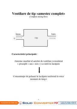 Curs - Confort Termic și Puritatea Aerului