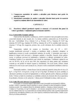 Referat - Analiza Comparativă a Metodelor de Determinare a Nitraților din Produsele Vegetale