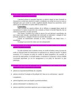 Curs - Subiecte Examen - Comunicare, Relatii Publice si Negociere