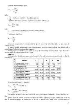 Curs - Analiza Ratelor de Rentabilitate