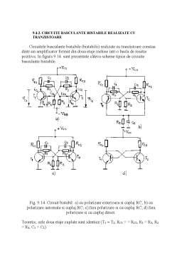Referat - Circuite Logice Secventiale