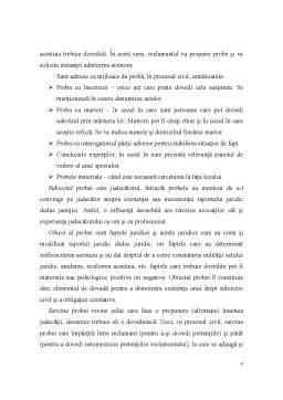 Referat - Proba prin Declaratia Partilor - Interogatoriul-Marturisirea