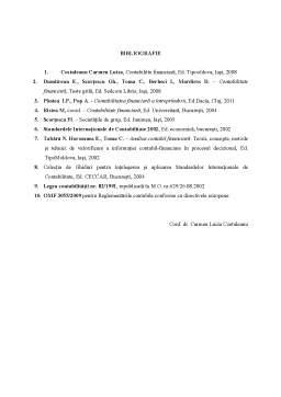 Notiță - Contabilitate Financiara - Teste Grila