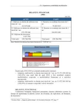 Proiect - Organizarea Contabilității Imobilizărilor