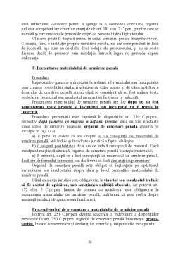 Curs - Drept Procesual Penal - Partea  Speciala