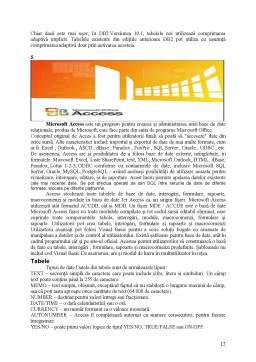 Proiect - Baza de Date Access - Evidenta Salariatilor