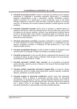 Curs - Contabilitatea Institutiilor de Credit