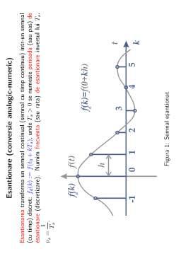 Notiță - Semnale și sisteme curs și subiecte date anterior
