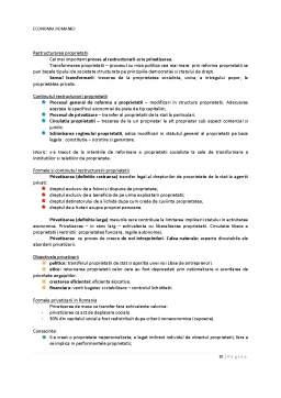 Curs - Economia Romaniei