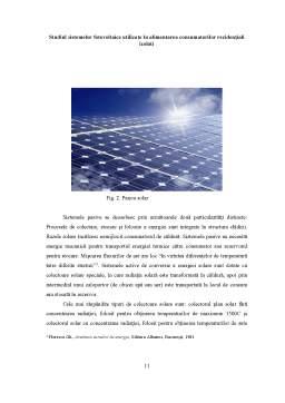 Licență - Studiul Sistemelor Fotovoltaice Utilizate în Alimentarea Consumatorilor Rezidențiali Izolati