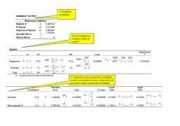 Seminar - Econometrie