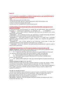 Notiță - Examen PLA