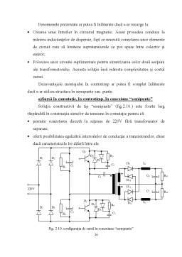 Licență - Tranzistoare de Putere Folosite in Constructia Surselor in Comutatie