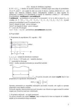 Curs - Elemente ale Teoriei Proceselor Stocastice
