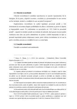 Proiect - Reconstituirea - Metoda de Cercetare Criminalistica