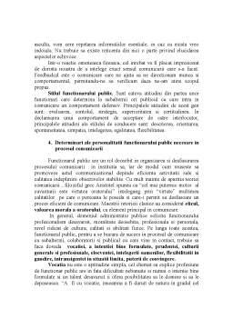 Referat - Rolul si Importanta Comunicarii in Administratia Publica