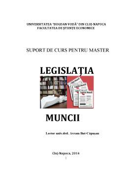Curs - Legislația Muncii