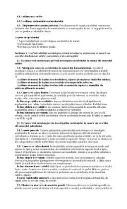 Curs - Criminalistica - Sinteza dupa Tratatul de Criminalistica