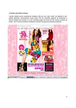 Proiect - Analiza Site-ului Victoria's Secret