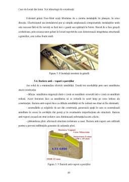 Licență - Case de Locuit din Lemn - Noi Tehnologii de Constructii
