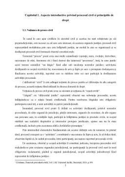Licență - Principiile Procesului Civil